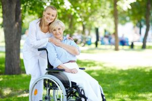 مراقبت از سالمند ویلچری در منزل