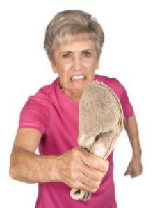 رفتار با سالمند پرخاشگر