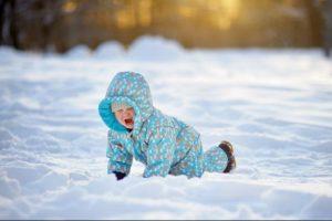 ایمنی کودک خردسال در زمستان
