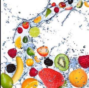 آبرسانی به بدن با میوه