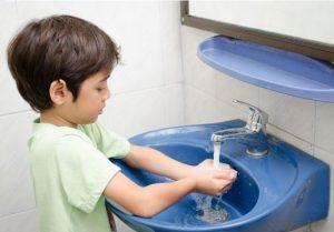اهمیت شستن دست ها