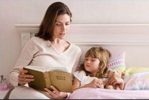 خواباندن کودک با داستان
