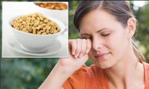درمان آلرژی به آجیل و بادام زمینی