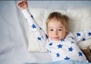 خواباندن کودک و بیدار شدن