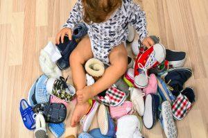 کفش مناسب برای کودکان