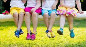 فواید کفش مناسب برای کودک