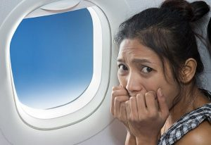 علایم ترس از پرواز