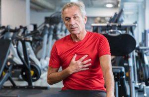 عوارض آنژین صدری