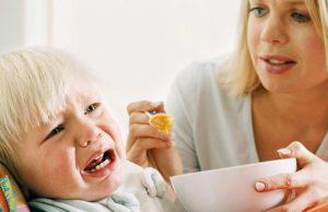 تشخیص امتناع کودک از غذا خوردن