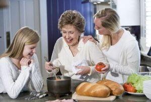 آشپزی و طبخ غذای سالمند