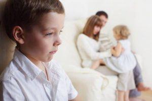حسادت در کودکان