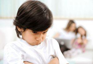 علایم حسادت در کودکان